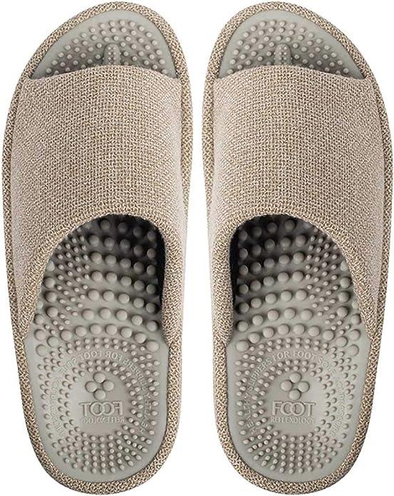 FLITE Women/'s Flip-Flops Rubber Slip/_On Casual Acupressure Slippers Flat Heel