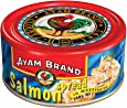 Ayam Brand Salmon Spread | Made from High Quality Salmon | Mixture of Fish & Vegetables with Mayonnaise | Great Taste | Omega 3 & Protein Source | Ideal for Lunchtime or Snacks | Serves 4 - 160g