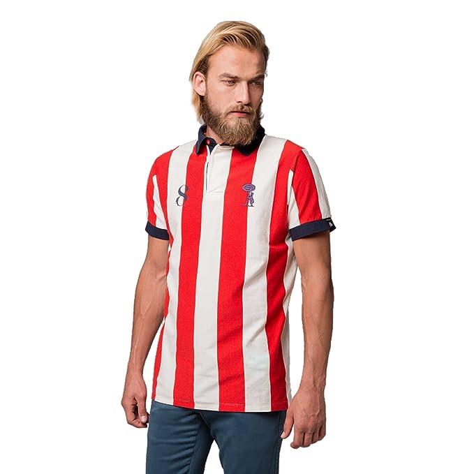 Coolligan 1903 Colchoneros, Camiseta para Hombre,, (Tamaño del Fabricante:S)