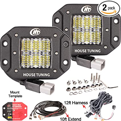 Amazing Amazon Com House Tuning 60W Backup Led Light 12V Flush Mount Led Wiring 101 Capemaxxcnl