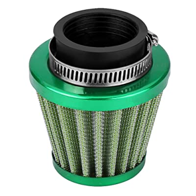 Qiilu 38mm Air Filter Intake Induction Kit for Off-Road Motorcycle ATV Quad Dirt Pit Bike (Green): Automotive