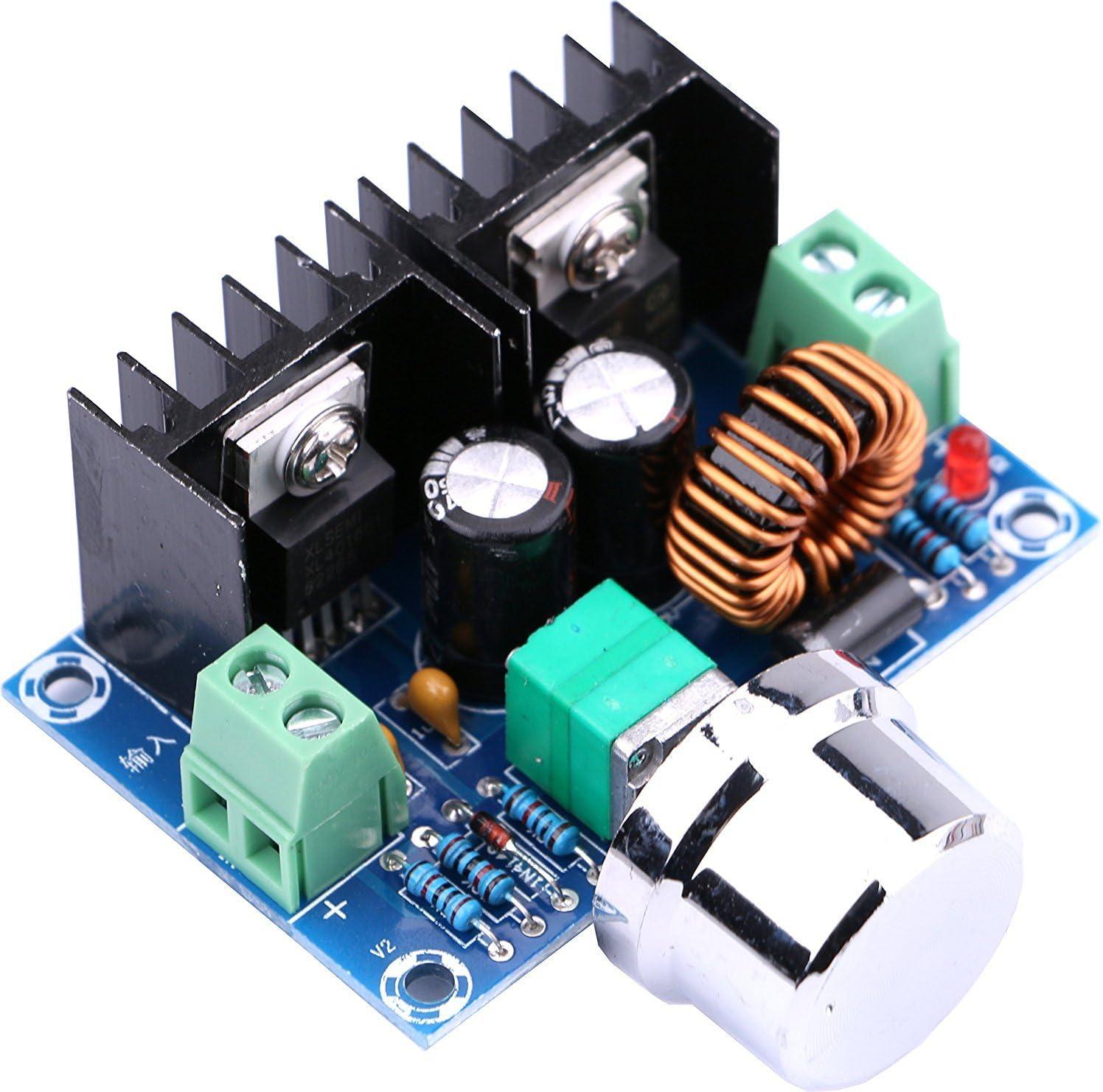 WINGONEER XL4016E1 DC 4-40V a DC 1.25-36V 8A Buck Convertidor Regulador de Voltaje 36V 24V 12V a 5V Alta Potencia Eficiencia Paso abajo Fuente de Alimentación