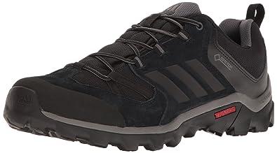De los hombres al aire libre Caprock Gore - Tex Adidas calzado de senderismo, granito / negro