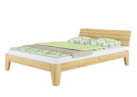 Erst holz letto singolo per ragazzi in legno di pino con rete