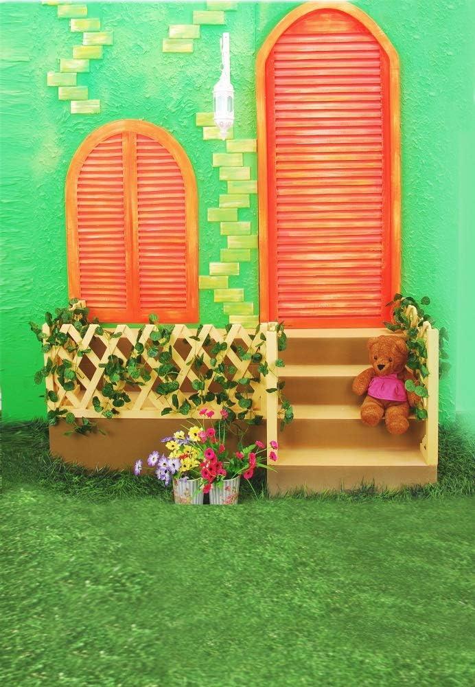 Ooozkken 6X9ft Scenes Background Bright Theme Newborn Photography Studio Photography Background