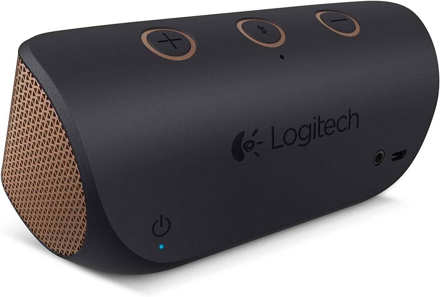 Logitech X300 Negro, Marrón - Altavoces portátiles (Inalámbrico y alámbrico, A2DP, 9 m, Negro, Marrón, Digital, Teléfono móvil/Smartphone)