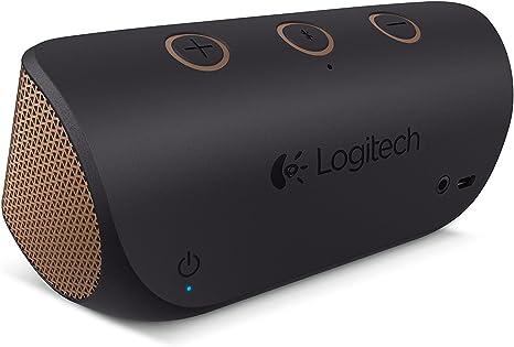 Logitech X300 portable speakers (Wireless, Battery, Bluetooth3.5 mm, Mobile phoneSmartphone, Black, Brown, Bluetooth)