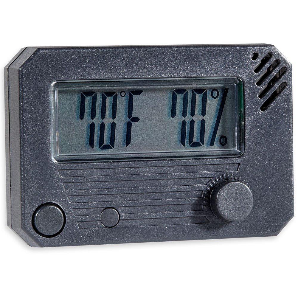 Hygro-Set Adjustable Digital Hygrometer Rectangle