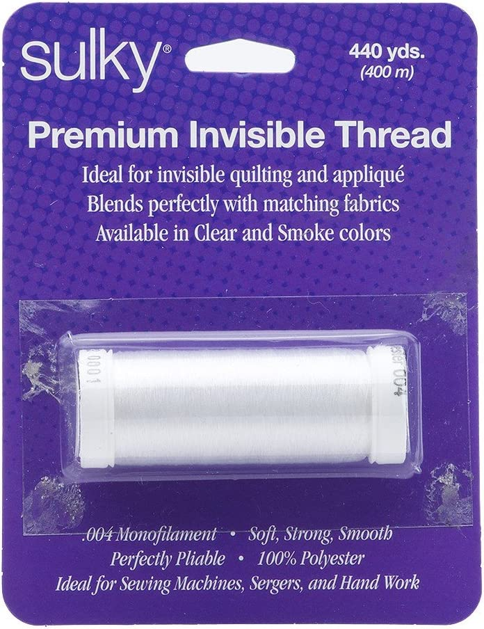 Sulky Of America 0.004mm Tucson Mall Invisible Polyester Cle yd Thread Sales for sale 440