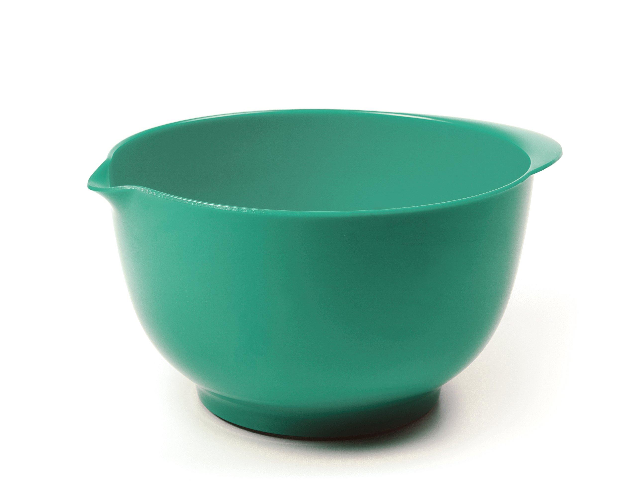 RSVP Melamine Mixing Bowl, Turquoise, 3-Quart
