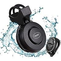Makerfire Elektronische fietsbel, USB-oplaadbaar, IP65 waterdicht, 120 dB, 4 geluidsmodi