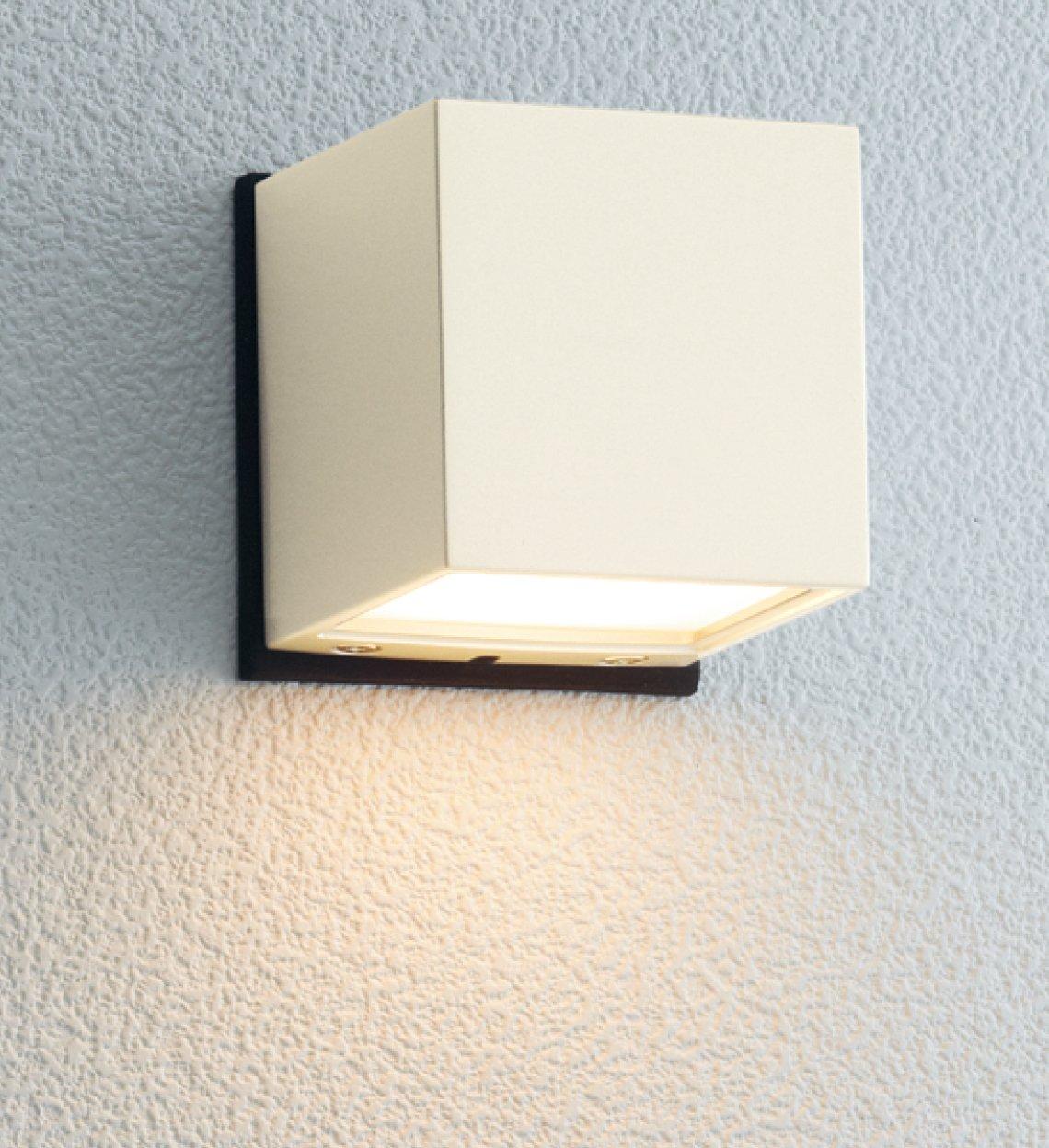 ユニソン(UNISON) 100V照明 ポージィ(PHOSY)ウォールライト LED  UA  01021  42 電球色 オフホワイト B00HZEIR68 オフホワイト オフホワイト