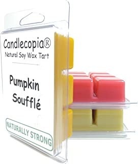 product image for Candlecopia Pumpkin Soufflé, Baked Apple Pie, and Seriously Cinnamon Strongly Scented Hand Poured Vegan Wax Melts, 18 Scented Wax Cubes, 9.6 Ounces in 3 x 6-Packs