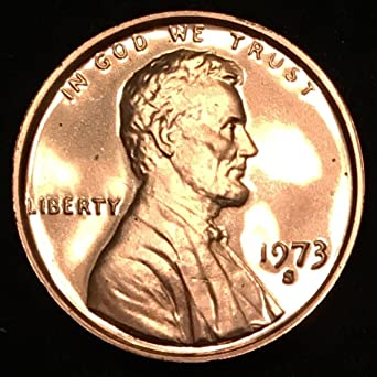 1973-S PROOF LINCOLN CENT