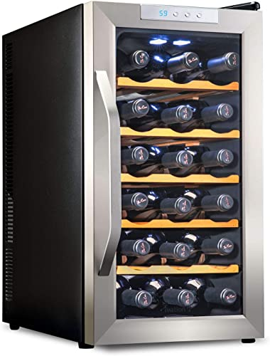 Ivation-Premium-Stainless-Steel-18-Bottle-Thermoelectric-Wine-Cooler