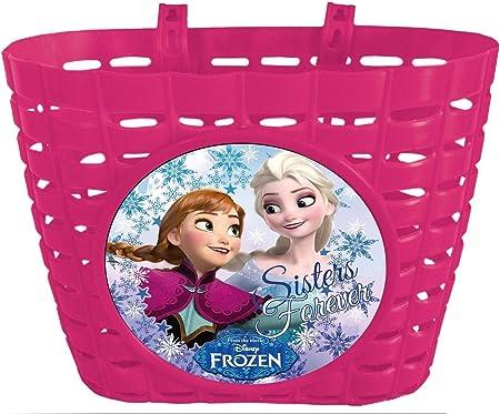 Cesta Infantil de Manillar de Bicicleta Frozen Princesa de las ...