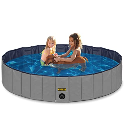 Amazon.com : Outdoor Swimming Pool Bathing Tub - Portable Foldable ...