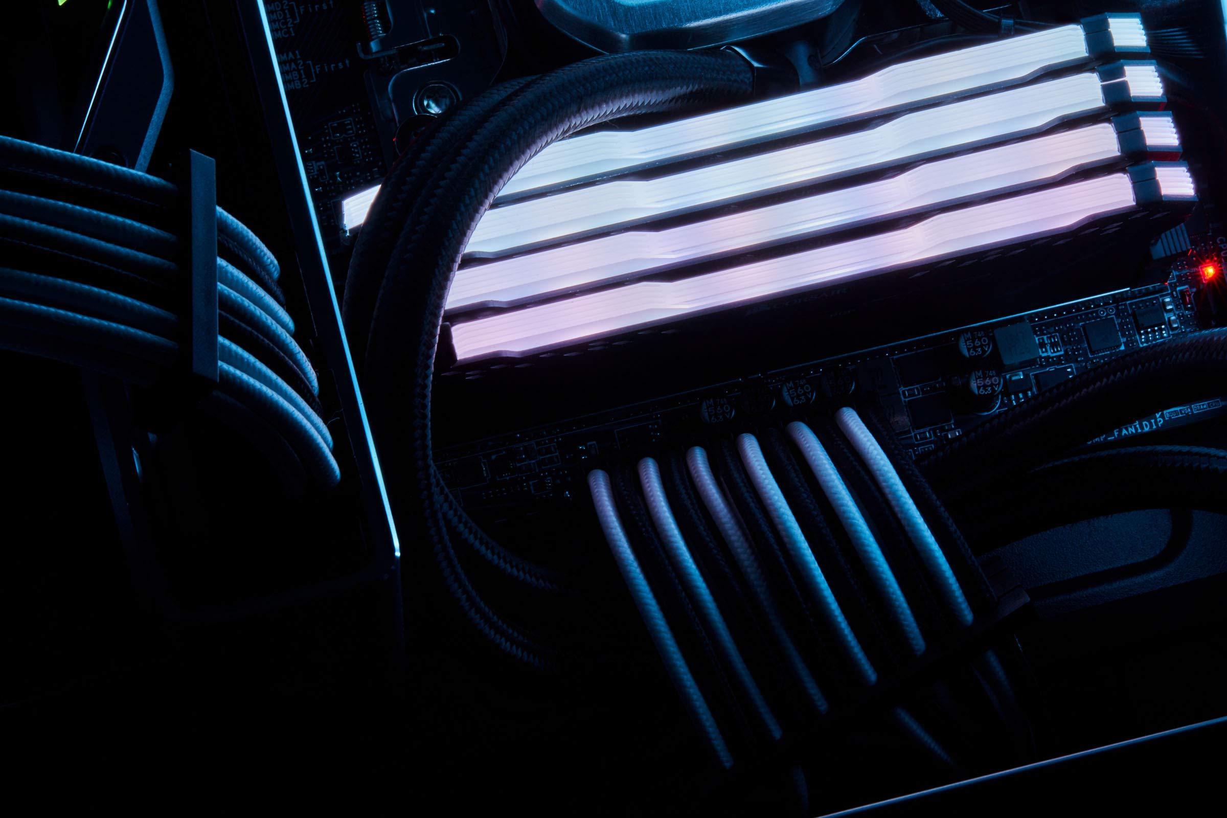 CORSAIR Premium Individually Sleeved PSU Cables Starter Kit - Black, 2 Yr Warranty, for Corsair PSUs by Corsair (Image #14)