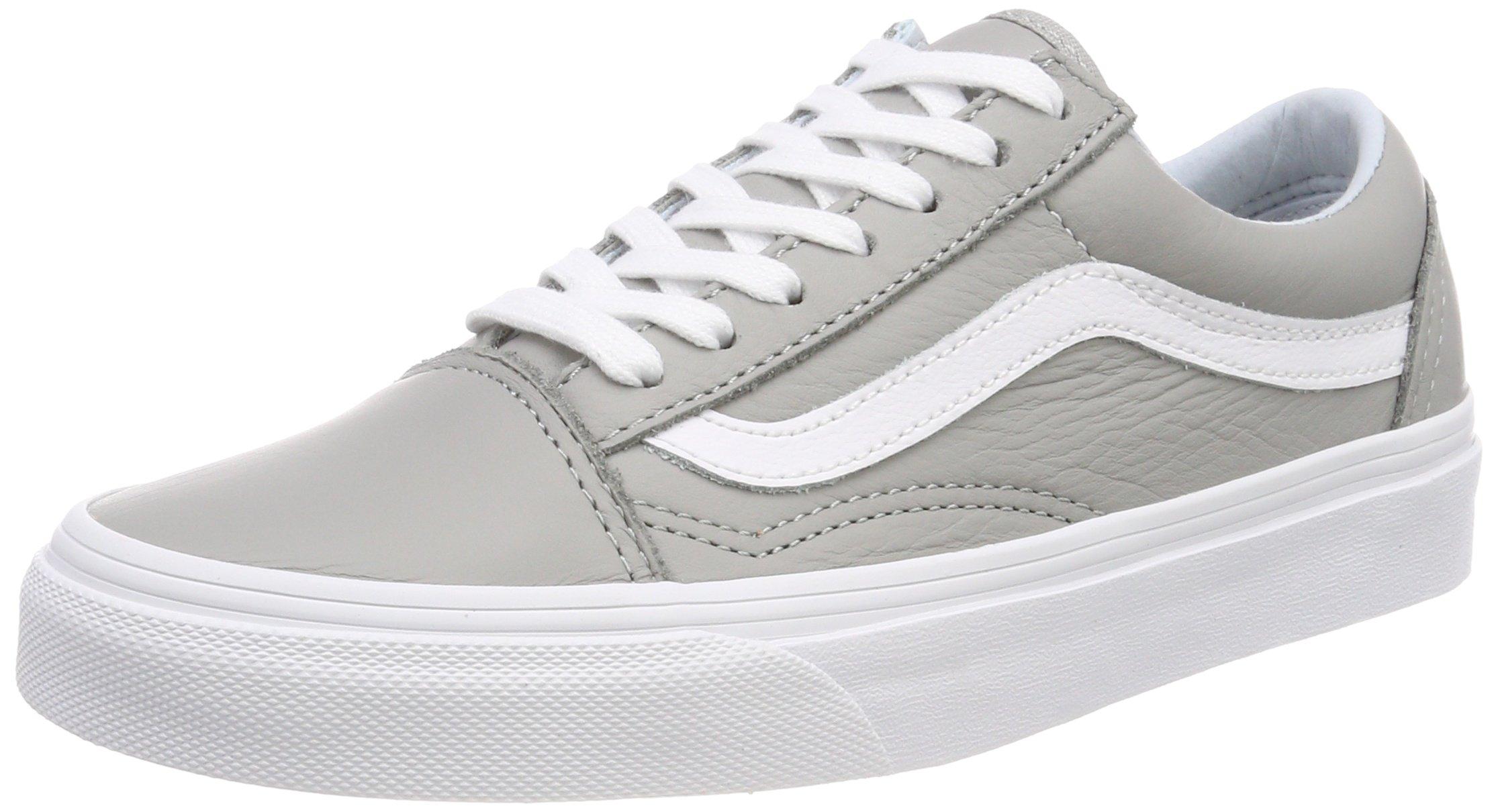 8c3326c3ee288 Vans Unisex Adults' Old Skool Trainers, Grey ((Leather) Oxford/Drizzle  Qd5), 11 UK 46 EU