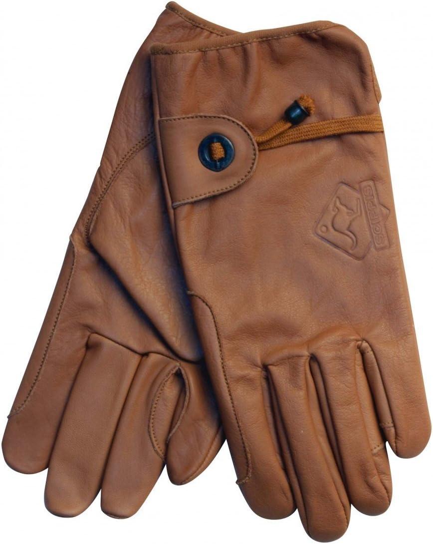Marr/ón Medium Scippis 3-6 d/ías laborables Lederen Handschoenen
