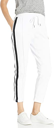 BB DAKOTA womens stay on track fleece ankle length track pant Sweatpants