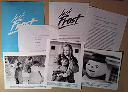 amazon com presskit jack frost 1998 michael keaton kelly