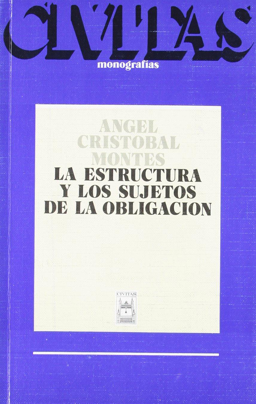 La Estructura Y Los Sujetos De La Obligacion Monografías