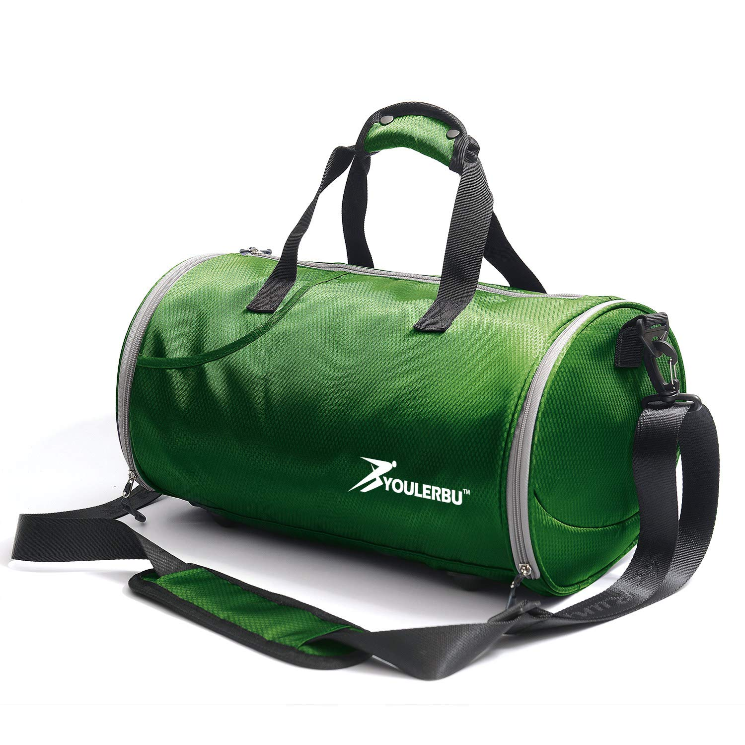 4d250122a80 Youlerbu Fitness Sports Small Gym Bag with Shoes Compartment Waterproof  Travel Duffel Bag for Women Men Kids
