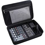 Aproca Hard Carry Travel Case for Behringer Xenyx 802 Premium 8-Input 2-Bus Mixer