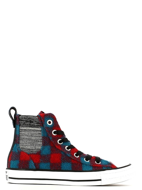 Converse x Woolrich CTAS Chelsee Womens Boot B00UI9AQOI 6.5 B(M) US|Casino/Cyan Space/White