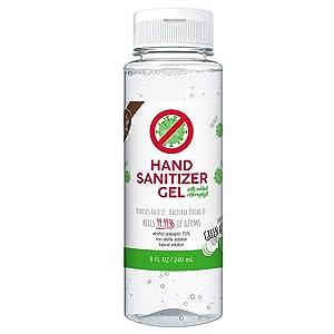 Kelly's Delight Hand Sanitizer Gel (Green Apple w/Chlorophyll)