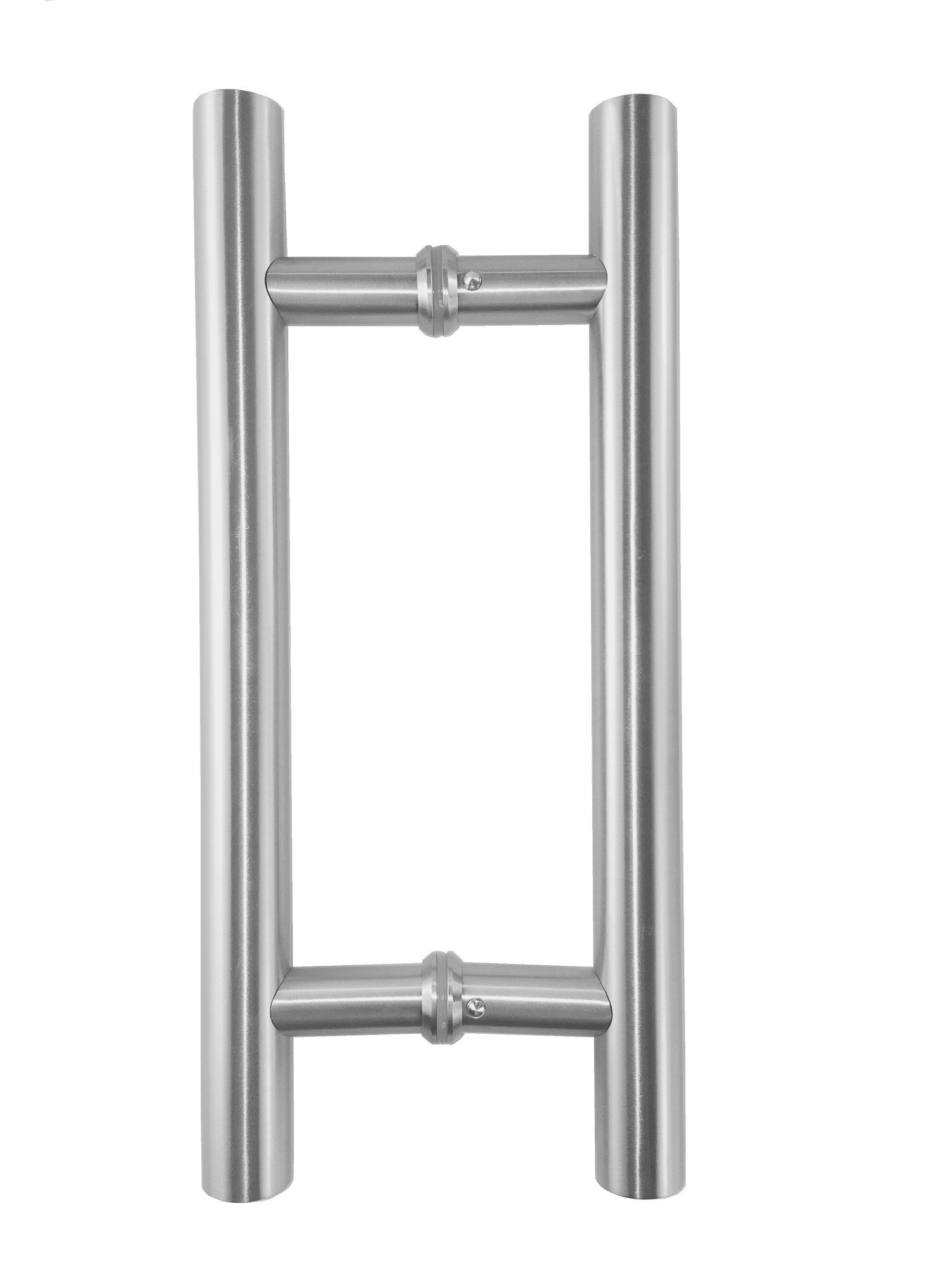 Promotion! VRSS 304 Stainless Steel Commercial H-Shape/Ladder Style Back to Back Push Pull Door Handle 3 Years Replacement Warranty (12'' Length/1'' Diamter)