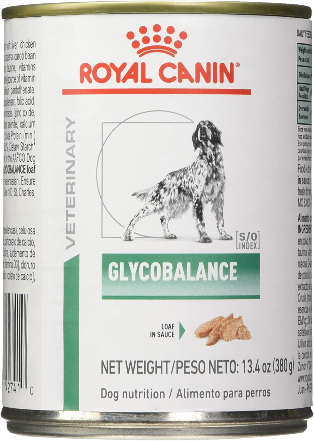 Royal Canin Veterinary Diet Canine Glycobalance In Gel Canned Dog Food, 13.4 oz, Pack of 24