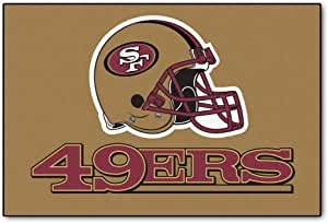 Amazon Com Nfl San Francisco 49ers Starter Rug Furniture Decor