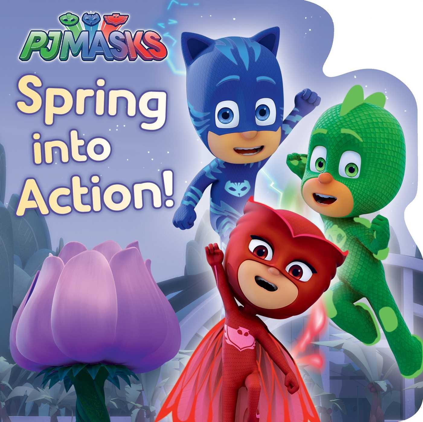 Spring Into Action! (PJ Masks): Amazon.es: Nakamura, May ...