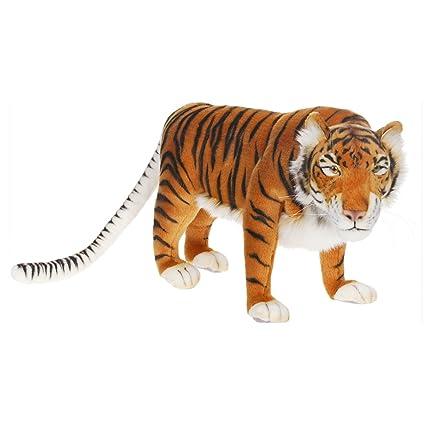 Amazon Com Hansa Caspian Tiger Stuffed Plush Animal Toys Games