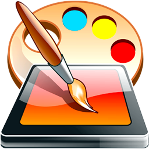 Sketch Pad Drawing App With Coloring Book