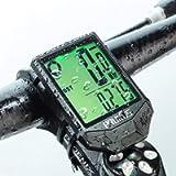 PRUNUS Bike Speedometer and Odometer Wireless Waterproof Bicycle Computer with Touch Sensor Switch, Big Digital LCD…