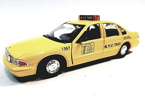 Amazon com: Sunnyside 1996 Yellow Chevy Custom Caprice Taxi