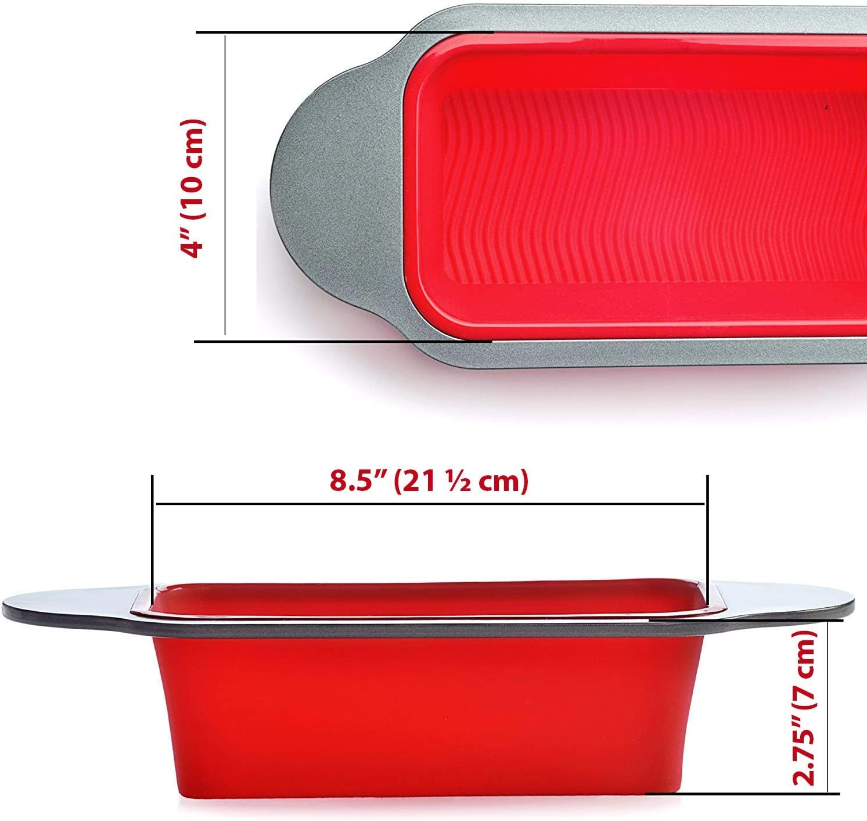Molde para Pan y Pastel de carne | Molde Gourmet para hornear Pan ...