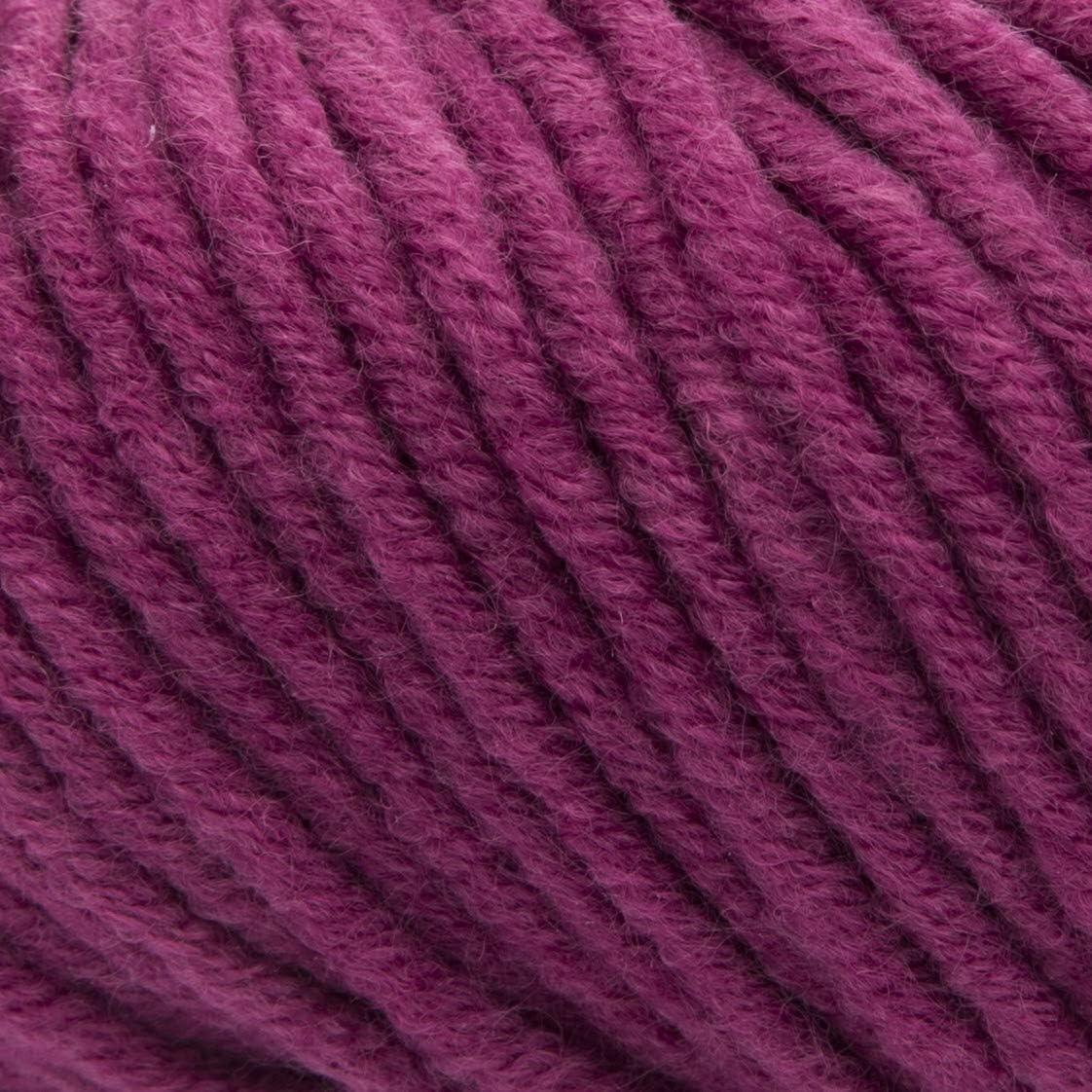 Nadelst/ärke 7-8 Merinowolle Mischung Stricken und H/äkeln Farbe:007 Laufl/änge ca.58 m ggh Aspen Dunkelbraun 50g Kn/äuel Verbrauch 600g