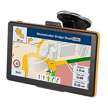 Navegación GPS para Coche o camión con Pantalla táctil de 17,78 cm, Incluye