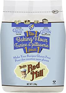 Bobs Red Mill Gluten Free 1 to 1 Baking Flour, 1240g