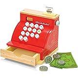 Le Toy Van kreditkortsläsare-träleksak, med läsare, röd