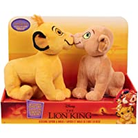 Disneys The Lion King Kissing Plush Simba & Nala