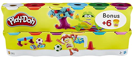 165 opinioni per Play-Doh B6751EU4- Pasta da Modellare, 12 Vasetti