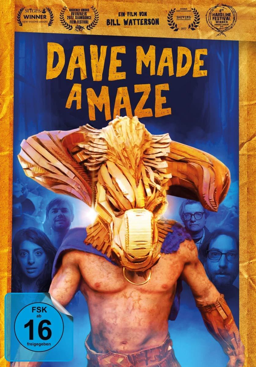 Dave Made a Maze [Alemania] [DVD]