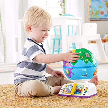 Amazon.com: Fisher-Price Laugh & Learn Greetings Globe FBR29 ...