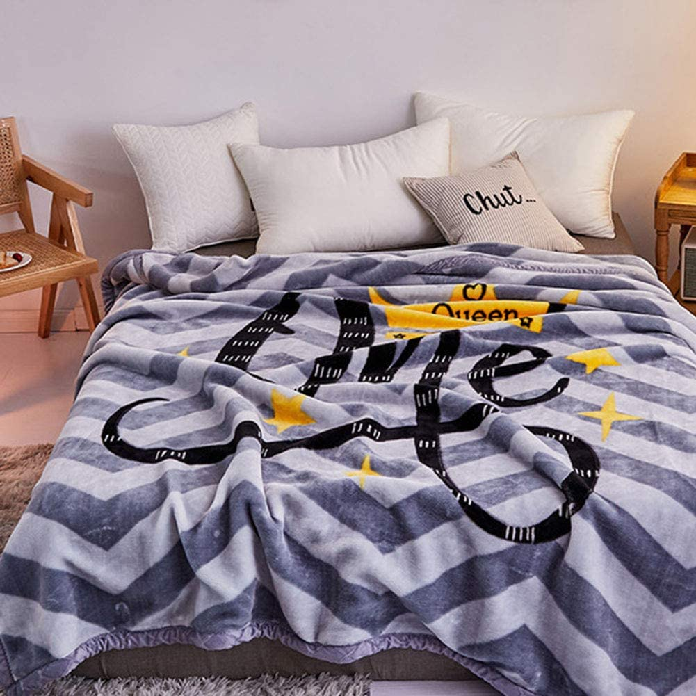 Home Blanket Fleece Throw Blanket for Bedding & Sofa Couch Super Soft Throw Warm Cozy Large Bedspread,d