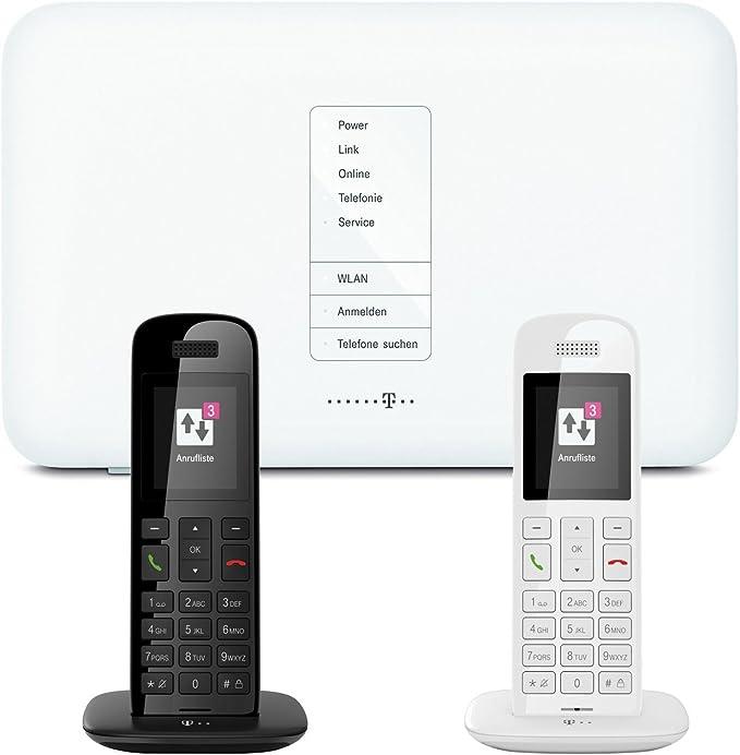 Telekom Ip Anschluss Telefon Starterpack Inkl Speedport W724v Und 2x Speedphone 10 Schwarz Weiß Elektronik